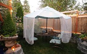 Mosquito Netting For 11 Patio Umbrella by Enjoying The Sunny Days With Outdoor Patio Umbrella Babytimeexpo