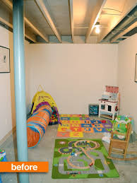 Cheap Basement Ceiling Ideas by The 25 Best Unfinished Basement Playroom Ideas On Pinterest