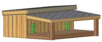 custom design insulated dog house plans large dogs st bernard
