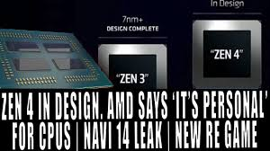 100 What Is Zen Design AMD Says Its Personal 3 Complete 4 Underway Navi 14 Leak New Resident Evil Incoming