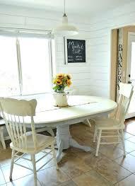 Black Breakfast Nook Painting Dining Room Table Medium Image For Impressive Chalk Paint