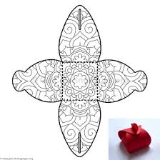 Candy Box Coloring Pages 11
