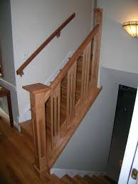 Amazing Wooden Stairs Railing | : Repairing Wooden Stairs Railing ... Remodelaholic Updating An Oak Stair Or Handrail To White And Walnut Rustic Wood Stair Railings Light Wood Staircase Best 25 Painted Banister Ideas On Pinterest Banister Remodel Top Ten Makeovers Link Party Railing Modern Neutral Wooden With Minimalist Steel Railing Bannister Banisters 12 Best Stairs Images Stairs Custom Interior Simple Also Rustic