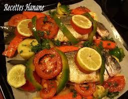 cuisiner la dorade daurade royale aux 4 légumes au four recettes by hanane