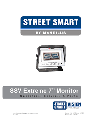 "SSV Extreme 7"" Monitor 