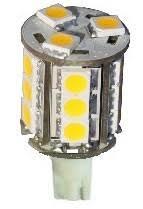 12 volt led bulb 10 30vdc t10 compact wedge 921 led bulb warm