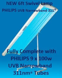 philips uvb narrowband 311 l home phototherapy treatment for