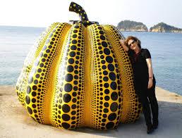 Yayoi Kusama Pumpkin Sculpture by Q U0026a Joan Mirviss