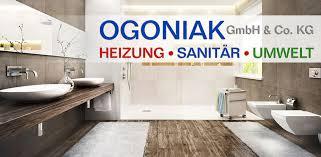 ogoniak gmbh co kg heizung sanitär handel fachhandel