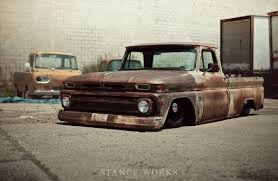 Visuals - Street Machinery's 1966 Chevy C10 Pickup - StanceWorks Pin By Ruffin Redwine On 65 Chevy Trucks Pinterest Cars 1966 C 10 Pickup 50k Miles Chevrolet C60 Dump Truck Item H1454 Sold April 1 G Truck Id 26435 C10 Doubleedged Sword Custom Truckin Magazine Stepside If You Want Success Try Starting With The 1964 Bed Inspirational Step Side Walk Bagged Air Ride Patina Trucks The Page For Sale Orange Twist Hot Rod Network