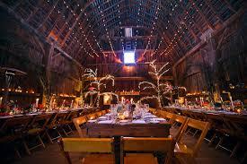Christmas Lights Wedding Barn