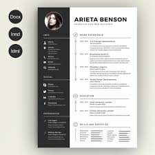 Creative Resume Templates Free Download Luxury Template Amazing Cool Design