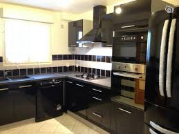 meuble cuisine en solde mobilier de cuisine agrandir des portes sur rails pour des gestes