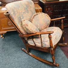 Vintage Wooden Rocking Chair Whosale Rocking Chairs Living Room Fniture Set Of 2 Wood Chair Porch Rocker Indoor Outdoor Hcom Traditional Slat For Patio White Modern Interesting Large With Cushion Festnight Stille Scdinavian Designs Lovely For Nursery Home Antique Box Tv In Living Room Of Wooden House With Rattan Rocking Wooden Chair Next To Table Interior Make Outside Ideas Regarding Deck Garden Backyard