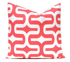 Coral Colored Decorative Items by Coral Pillow Covers 12 X 16 Pillow Covers Decorative Throw