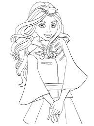 Descendants 2 Coloring Pages With Ideas