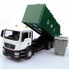 100 Sanitation Truck 132 Scale Garbage S Toy Car Model With
