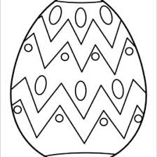 Images Of Easter Eggs To Color Jefney