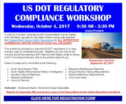 New Jersey Motor Truck Association - US DOT REGULATORY COMPLIANCE ... Tougher Regulations Lack Of Parking Present Challenges For Truck Fmcsa Proposes Revised Hoursofservice Personal Conveyance Guidance Us Department Transportation Ppt Download The Common Refrain In Complaints About Fmcsas Hos Rules Fleet Owner 49 Cfr Publications Icc Senate Bill To Examine Reform Trucking Regulations Feedstuffs Federal Motor Carrier Safety Administration Inrstate Driver Selfdriving Truck Policy Takes A Big Step Forward Embark Trucks Appeals Court Temporarily Stays Epa Decision Not Enforce Glider Truckers Take On Trump Over Electronic Logging Device Rules Wired