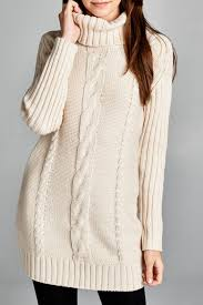 honey punch cable knit sweater dress from montana by apricot lane