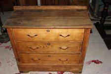 Tiger Oak Serpentine Dresser by Oak Original Antique Dressers U0026 Vanities 1900 1950 Ebay