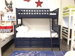 Campground Collection Twin over Full Bunk Bed with Captain Drawers