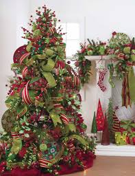 Raz Artificial Christmas Trees by Decorated Christmas Tree Ideas Photo Gallery At Shelley B