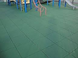 Playground Rubber Flooring Beautiful Green Tiles Use In Various Colors And Patterns