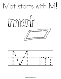 Welcome Mat Coloring Pages