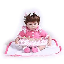 Amazoncom Andrea Arcello Ashley Breathing Lifelike Baby Doll So
