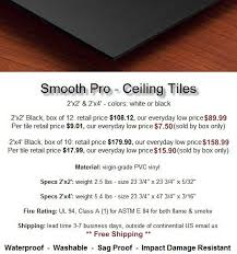 Frp Ceiling Tiles 2 4 by Ceiling Tile Superstore For New Ceiling Tiles