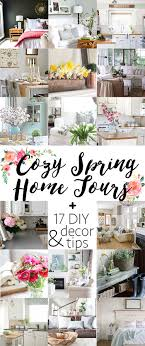 So Many Beautiful Homes Spring Decorating Ideas Diy Tips And More In These