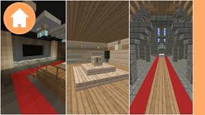 Minecraft Pe Living Room Designs by Minecraft 25 Room Ideas Youtube