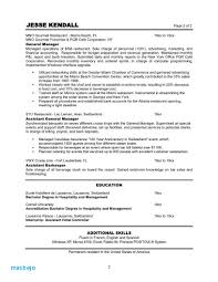 Business Owner Resume Examples Catering Manager Restaurant Sample Hotel