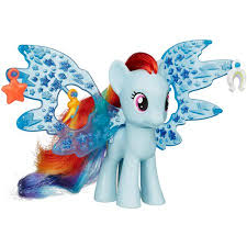 my pony cutie magic friendship charm wings rainbow
