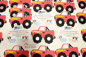 Birthday And Baby Shower Invitations: Cricut Monster Truck Invitations Mr Vs 3rd Monster Truck Birthday Party Part Ii The Fun And Cake Monster Truck Food Labels Mrruck_party_invitions_mplatesjpg Unique Free Printable Grave Digger Invitations Gallery Marvelous Ideas At In A Box Cool Blue Card Truck Birthday Blaze The Machine Invitation On Design Of Jam Ticket Style Personalized 599 Sophisticated Photo Christmas Card