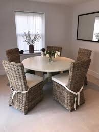 Cream Solid Wood Round Dining Table With 5 Wicker Chairs | In Blandford  Forum, Dorset | Gumtree Rattan Ding Chair Set Of 2 Mocka Nz Solid Wood Table Wicker Chairs Garden Table And Chairs 6 Seater Triple Plate Grey Granite Wicker Grosseto Cream Wood Round With 5 In Blandford Forum Dorset Gumtree Teak Driftwood Sunbrella Details About Louis Outdoor 7 Piece Acacia Stacking Shore Coastal Cushion Room Trends Ideas For 20 Hayneedle Sahara 10 Seat Top Kai Setting Sicillian Stone Half Rovicon Saltash Small Extending 4 Amari 1