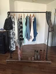 Decorative Metal Garment Rack by Diy Garment Rack Beautiful Image Of Diy Clothing Rack Bedroom