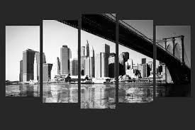 toile photo polyptyque pentaptyque le pont de avec