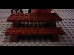 how to build a lego picnic table youtube