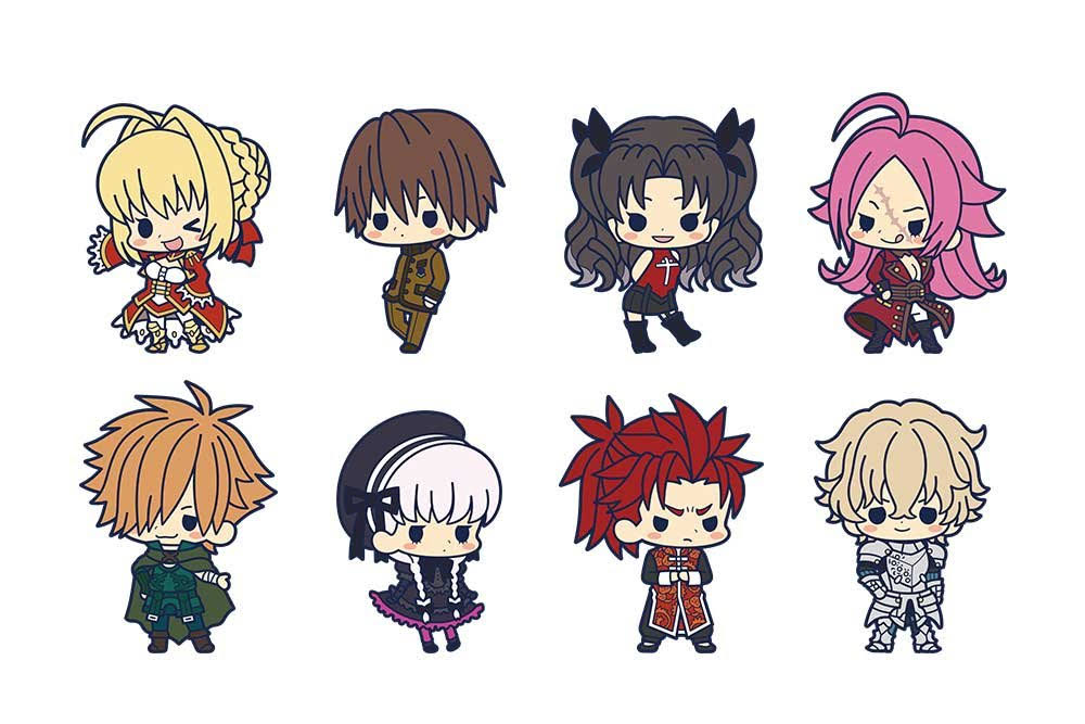 Rubber Strap Collection Fate / Extra Last Encore 1Box = 8 Pieces All Eight
