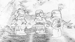 SW FreeMaker Adventures Coloring Page LEGO Star Wars
