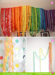 Paper Streamer Decorations 1 And 2