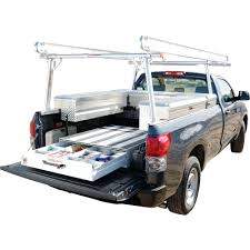 Look Used Ladder Racks For Pickup Trucks Universal Ladder Rack ... X35 800lb Weightsted Universal Pickup Truck Twobar Ladder Rack Kargo Master Heavy Duty Pro Ii Pickup Topper For 3rd Gen Toyota Tacoma Double Cab With Thule 500xtb Xsporter Pick Shop Hauler Racks Campershell Bright Dipped Anodized Alinum For Trucks Aaracks Model Apx25 Extendable Bed Review Etrailercom Ford Long Beddhs Storage Bins Ernies Inc