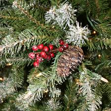 Dunhill Christmas Trees by National Tree Snowy Dunhill Fir 7 5ft Artificial Christmas Tree