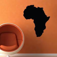 afrika karte wand aufkleber wohnkultur wohnzimmer schlafzimmer dekoration poster tapete vinyl wand decals wandbild wand kunst s 390