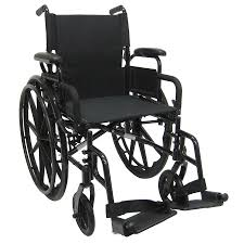 100 Rocking Chair Wheelchair Karman 16 Inch Ultra Lightweight With Flip Back Armrest