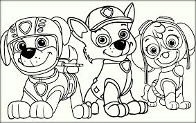 Draw Paw Patrol Coloring Pages 98 On Free Book With