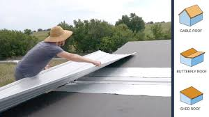 100 Butterfly Roof DIY Tiny House Construction