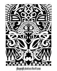 13676 Tattoos Polynesian Hawaiian Tiki And Maori Tattoo